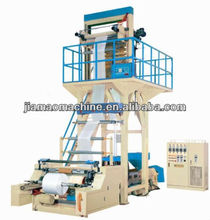 Rotary die head PE/PP film co-extrusion blowing machine(Extruding)