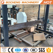 Petrol chain saw timber wood cutting machine