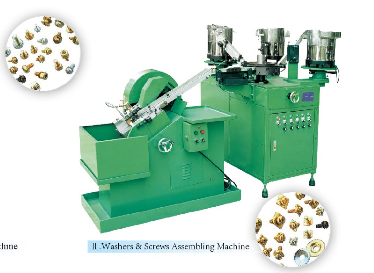 automatic high quality washer assembling machine