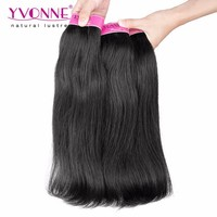 Indian Hair Natural Straight No Tangle Human Hair Weft
