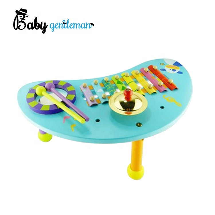 Toy Musical Instrument Learning & Education Kids Baby Design Handbell Musical Instrument Jingle Rattle Toy B# Dropshipping