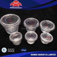 Wholesale market 4 oz plastic portion cup best selling products in philippines