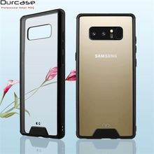China Manufacturer Factory Ultra Soft TPU Bumper Acrylic Cell Phone Case Cover For Samsung Galaxy Note 8 Case