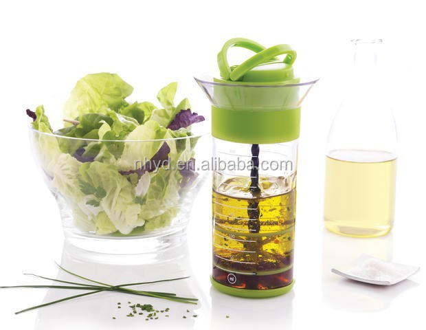 hot new products 2015 salad tools salad dressing bottle sauces universal mixer plastic sauce bottle kitchen tools