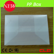 custom size PP file box card box