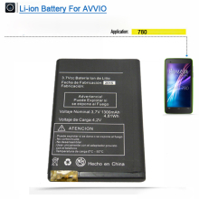 Rechargeable charge cell phone battery for Avvio 780