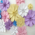 Beautiful deep colour big artificial wall flower foam paper flower for decoration