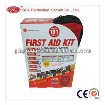 First aid kit soft-101 pcs soft bag