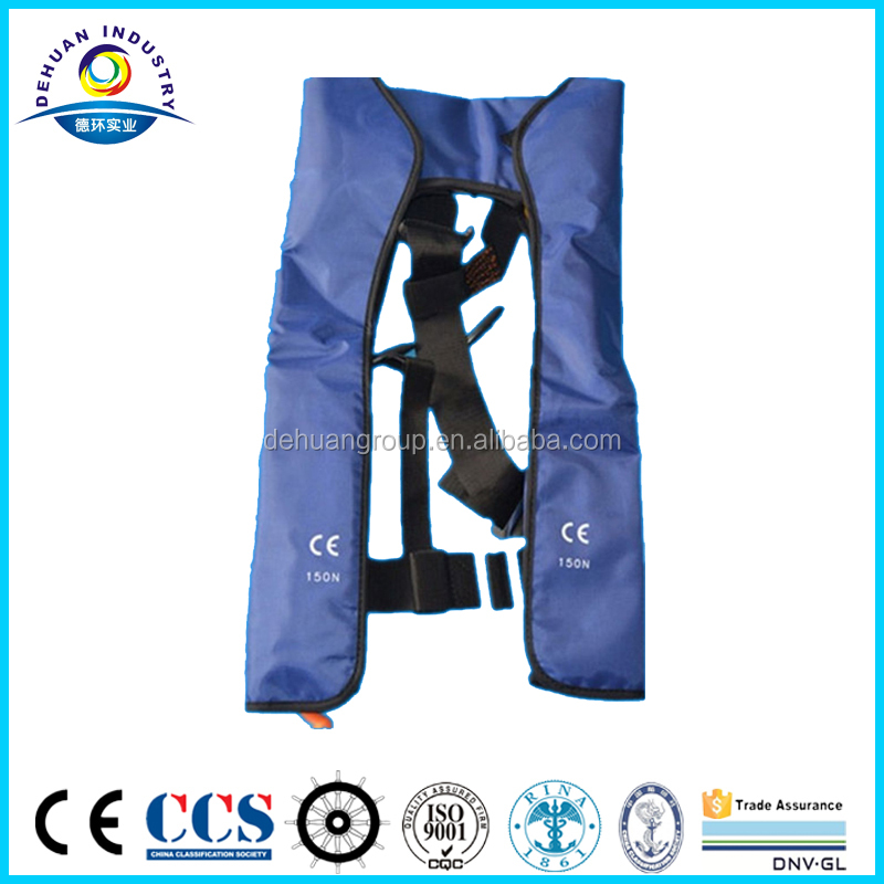 CE approved inflatable life jacket