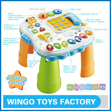 Early learning kids study table toys