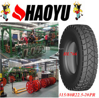 chinese tyre high quality LING LONG quality lionstone brand 315/80r22.5 heavy truck tyre