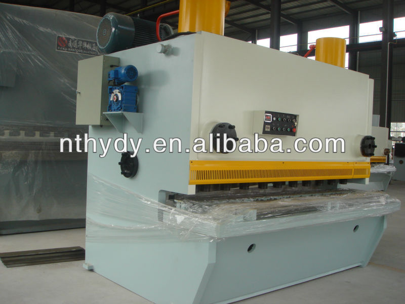 Alloy Plate scrap metal shearing machine/Iron Guillotines /Steel Cutter