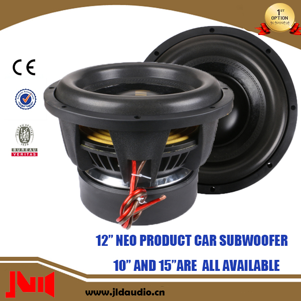 "Made In China Neo Basket 12"" 1500W RMS Subwoofer Car Audio"