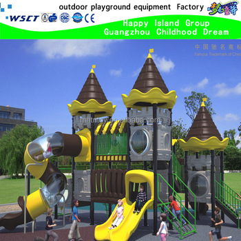 castle playground set outdoor for children