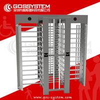 Automatic Remote Access Controls Full Height Rfid Turnstile Gate Price Colors