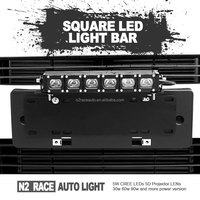 N2 Black 10inch 30W Square LED Light Bull Bar Mouting Truck 4x4 ATV Tractor