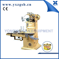 corn beef luncheon meat can vacuum seamer machine