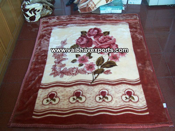 Best Quality 100 % Polyester Mink Blanket