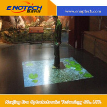 Hot new interactive floor projection wall system for logo display