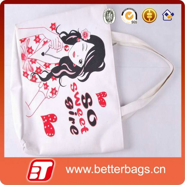 tote canvas shopping bag