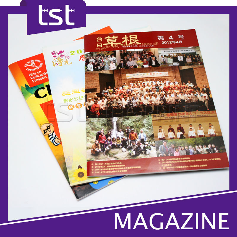 Hot Sale Offset Printing Magazine with High Quality