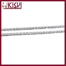 China wholesale 925 sterling silver bulk jewelry chain for women