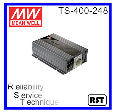 TS-400-248 True Sine Wave made in Taiwan Meanwell 400W 48V DC AC Power micro inverter