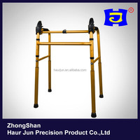 Multi-functional Aluminum alloy foldable stair climbing elderly walker & disabled walker
