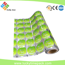 Aluminum Foil Food Packaging Film/plastic Laminated Packing Film Roll For Snack/coffee