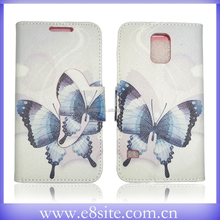 Gift For Girl Butterfly Design Leather Case For SamSung Galaxy S5
