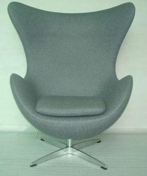 Cashmere fiberglass egg chair with ottoman view cashmere fiberglass egg chair with ottoman - Fiberglass egg chair ...
