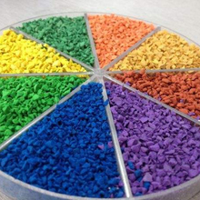 Various color EPDM granules safety rubber flooring for play areas