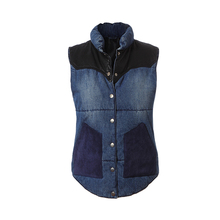 Cheap price oem wash denim vest wholesale