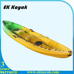 Plastic and cheap used fishing kayak boat for sale