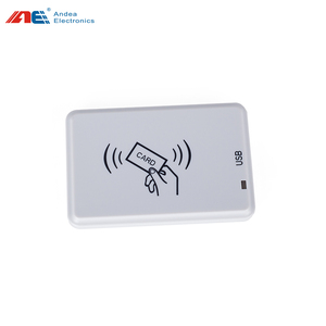 ISO15693 ISO14443A 13.56mhz NFC desktop USB RFID card reader with anti-collision
