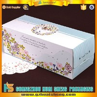 Customized recycled Paper Cardboard Cake Packaging Box For Birthday cake