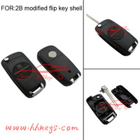 factory direct modified 2 button Remote Flip Auto Key Shell for Nisan key cover