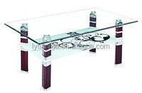 Best selling home furniture Transparent tempered glass coffee table, Modern coffee table,tea table CT06