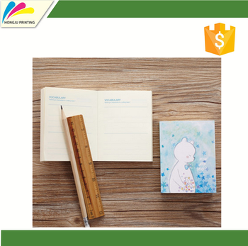 Good Quality Promotional executive notebook With Pen Attached