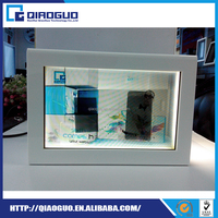 Gold Supplier China Transparent Lcd Advertising Cool Display / Fridge