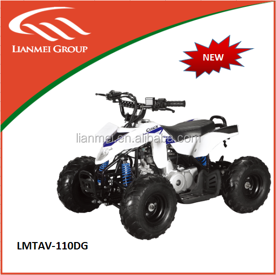 New model 110cc ATV 4 stroke chain driver quad LMATV-110DG