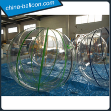 roll inside inflatable ball, inflatable sealed transparent water balloon, best selling inflatable bubble ball
