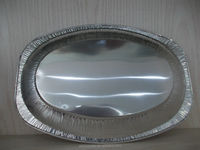 hot sale disposable aluminum foil container low price high quality big turkey aluminum foil tray