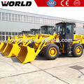 compact W136 brand new 3 ton construction machinery wheel loader price