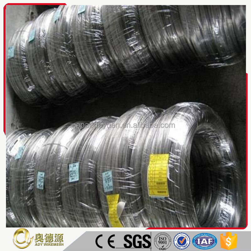 High resistance wire soft/bright/anneal pure nickel wire 99.6%