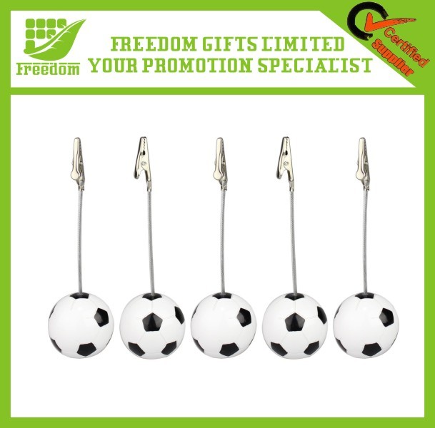 OEM Logo Promotional Football Memo Clip Holder