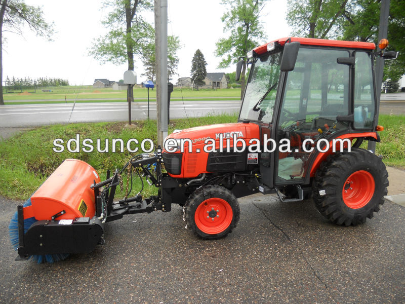 SD SUNCO Snow Sweeper, Tractor Front Mounted, PTO Driven with CE Certificate