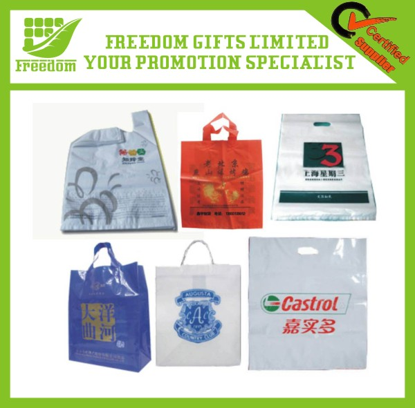 High Quality Hdpe Plastic Shopping Bag With Vest Handle