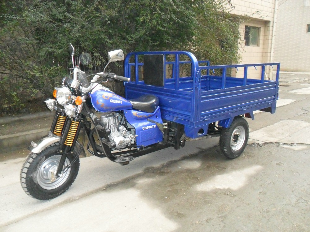 Chinese 150cc/200cc/250cc cargo tricycle/three wheel motorcycle/tuk tuk