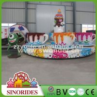 Amusement Park Equipment!Sinorides amusement park coffee cup activity game